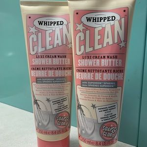 Soap & Glory Whipped Clean Luxury Cream  2 Pkgs